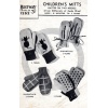 Bestway Knitwear Children's Mitts