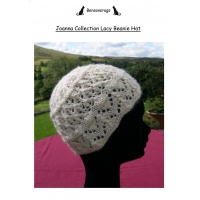 Joanna Collection Lacy Beanie Hat
